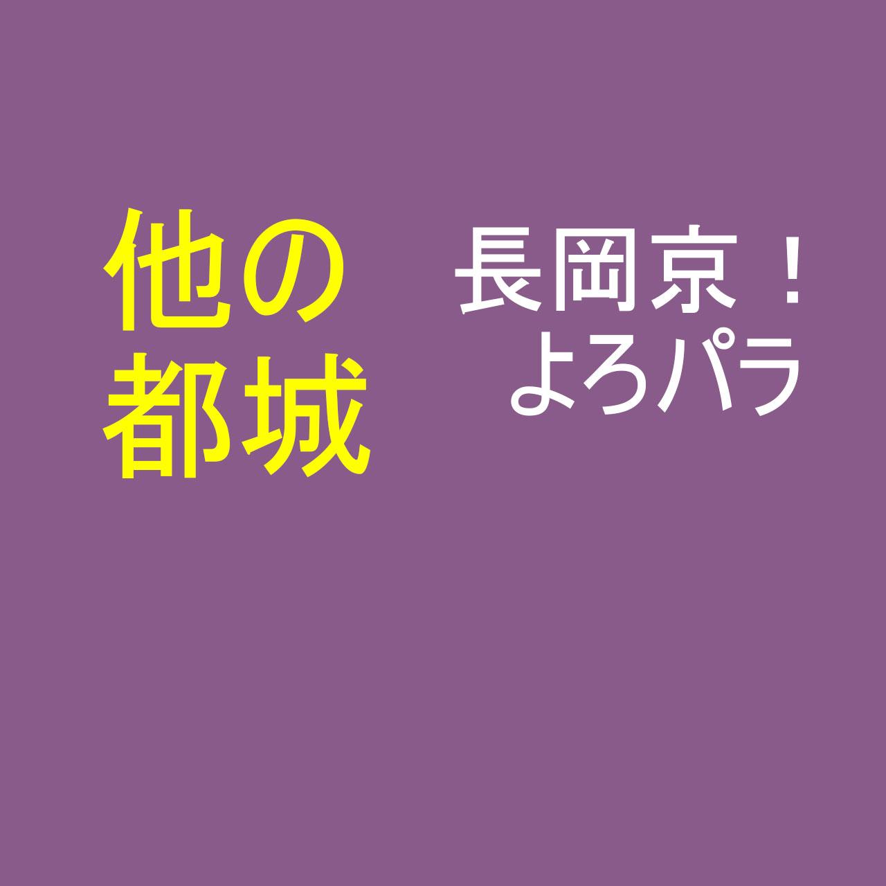 長岡京以外の都城