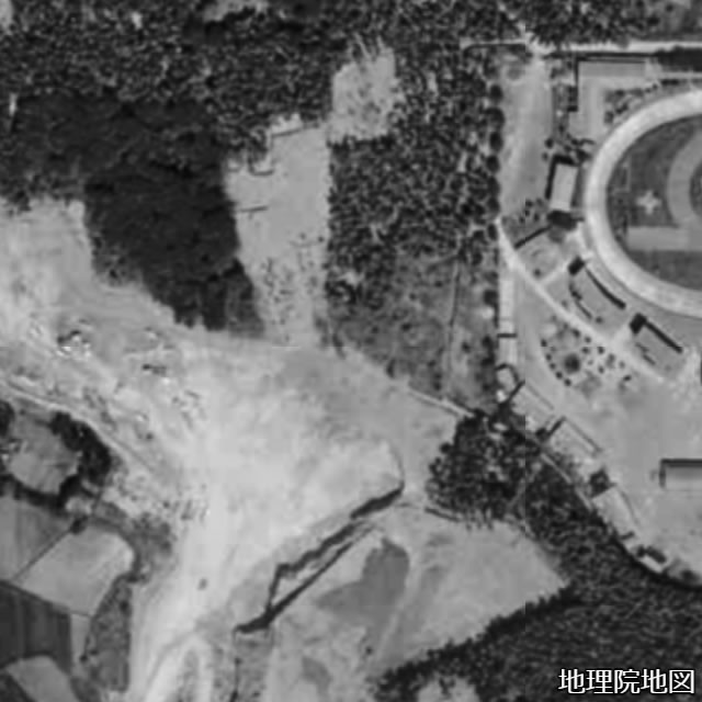 1960年代の北山古墳跡推定地